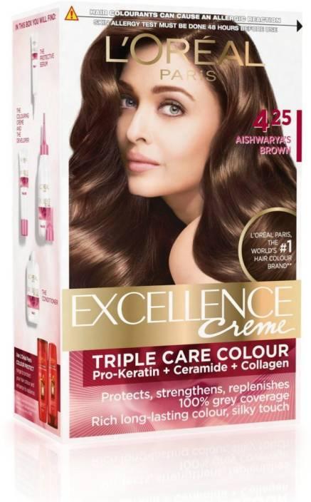 Loreal-Paris-Excellence-Creme-Aishwarya\'s Brown   Cherry Basket
