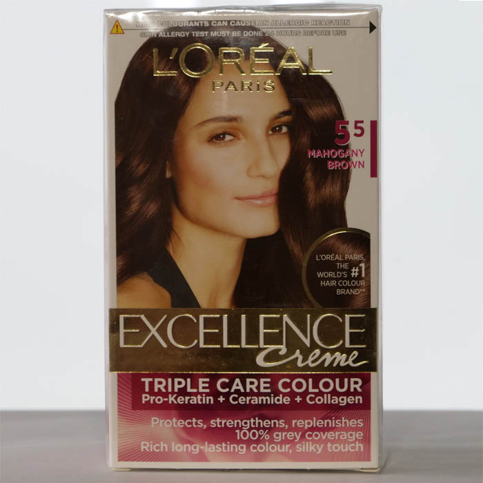 Excellence Creme Loreal Paris Mahogany Browng Cherry Basket